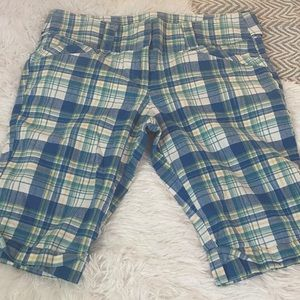 Plaid Bermuda Shorts | SIZE 7J